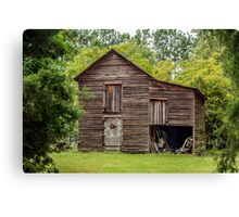 Barn: Vintage Canvas Print