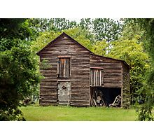 Barn: Vintage Photographic Print