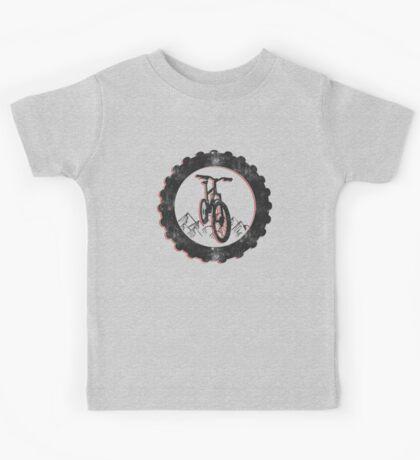 Mountain Bike Cycling Bicycle  Kids Tee
