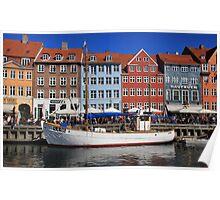 Nyhavn, Copenhagen Poster