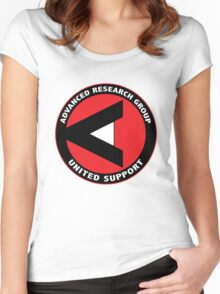ARGUS shirt (Advanced Research Group United Support) – Arrow Women's Fitted Scoop T-Shirt