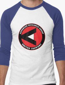 ARGUS shirt (Advanced Research Group United Support) – Arrow Men's Baseball ¾ T-Shirt