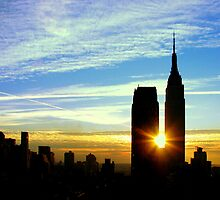 New York Sunrise by Betsy Foster Breen