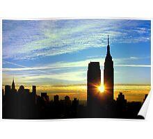 New York Sunrise Poster