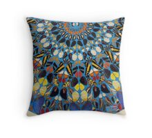 Butterfly cape Throw Pillow
