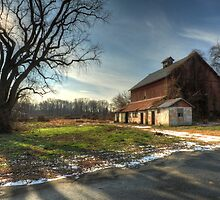 Barn Under the Tree by Bill Lawson