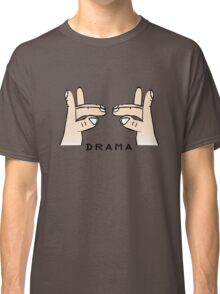Drama llama geek funny nerd Classic T-Shirt
