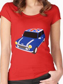 Classic Mini Cooper Women's Fitted Scoop T-Shirt