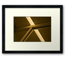 Equilateral Triangle Framed Print