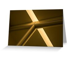Equilateral Triangle Greeting Card
