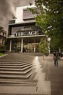 'The Age' Building, Melbourne by Heather Prince