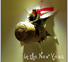 Riding the Cork into the New Year by Terry Temple