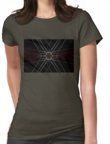Ruby Intersection Womens Fitted T-Shirt