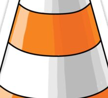 traffic cone Sticker