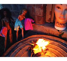 Bonfire of the Vanities Photographic Print