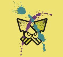 Splatoon - Turf Wars 3 [WHITE Var] Kids Clothes