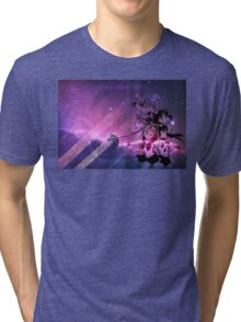 Sailor Scouts Purple Galaxy - Sailor Moon Tri-blend T-Shirt