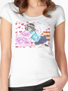 The Eldest Sister Women's Fitted Scoop T-Shirt