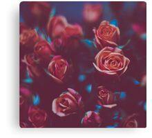Botánico Oscuro Canvas Print