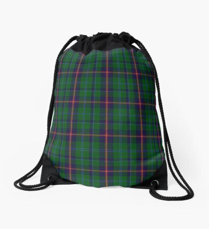 00011 Young Clan Tartan  Drawstring Bag