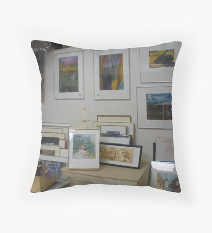 my studio 2 Throw Pillow