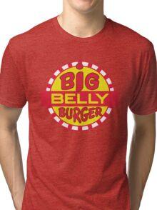Big Belly Burger shirt - Arrow, Diggle, Starling City Tri-blend T-Shirt
