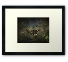 The Cooldown Framed Print