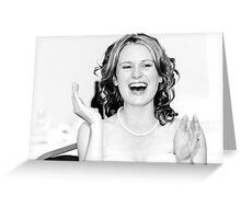 The Wedding Speech Greeting Card