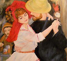 La Danse d Bonigval from Renoir, 1883 by Jsimone