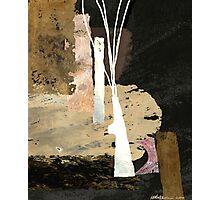 """White Vase""  Photographic Print"