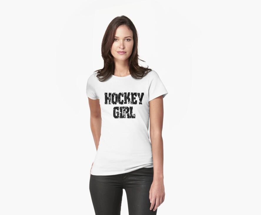 Hockey Girl by SportsT-Shirts