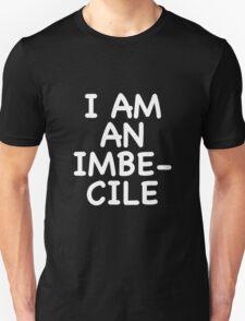 Dismaland I am an imbecile balloon shirt Unisex T-Shirt