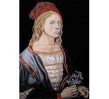 "Copy of ""Self-portait at 22"" by Albrecht Dürer 1493 Photographic Print"