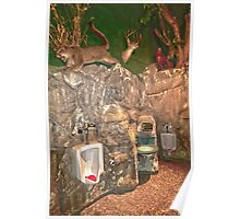 """""""Nature Calls"""" - bathroom in Spring Hill, Wisconsin Poster"""