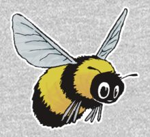 Happily Bumbling Bumble Bee One Piece - Long Sleeve
