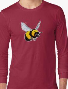 Happily Bumbling Bumble Bee Long Sleeve T-Shirt