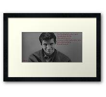 Psycho (1960) Framed Print