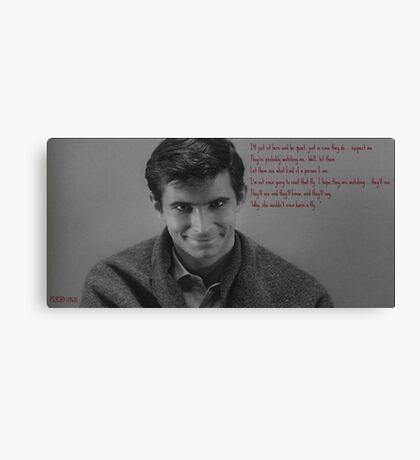Psycho (1960) Canvas Print