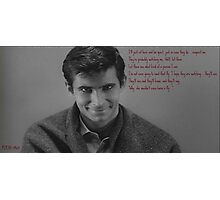 Psycho (1960) Photographic Print