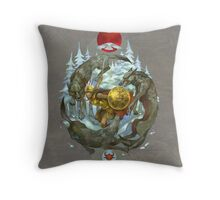 Glorantha: The Coming Storm Throw Pillow