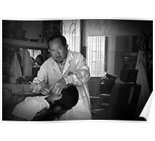 Vietnam - Barber Shop, Dalat Poster