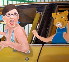 Lady with Tiger by Jennifer Herrin