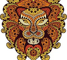 Lion Abstraction by MrNicekat