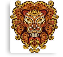 Lion Abstraction Canvas Print