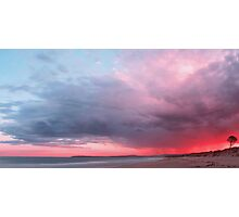 The Sky Above Panorama Photographic Print