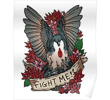 FIGHT ME!! Poster