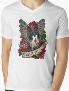 FIGHT ME!! Mens V-Neck T-Shirt