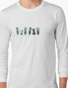 Princess Mononoke- Tree Spirits Long Sleeve T-Shirt