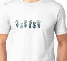 Princess Mononoke- Tree Spirits Unisex T-Shirt
