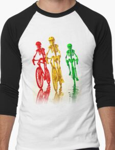 Bones on bikes tee and iphone case Men's Baseball ¾ T-Shirt